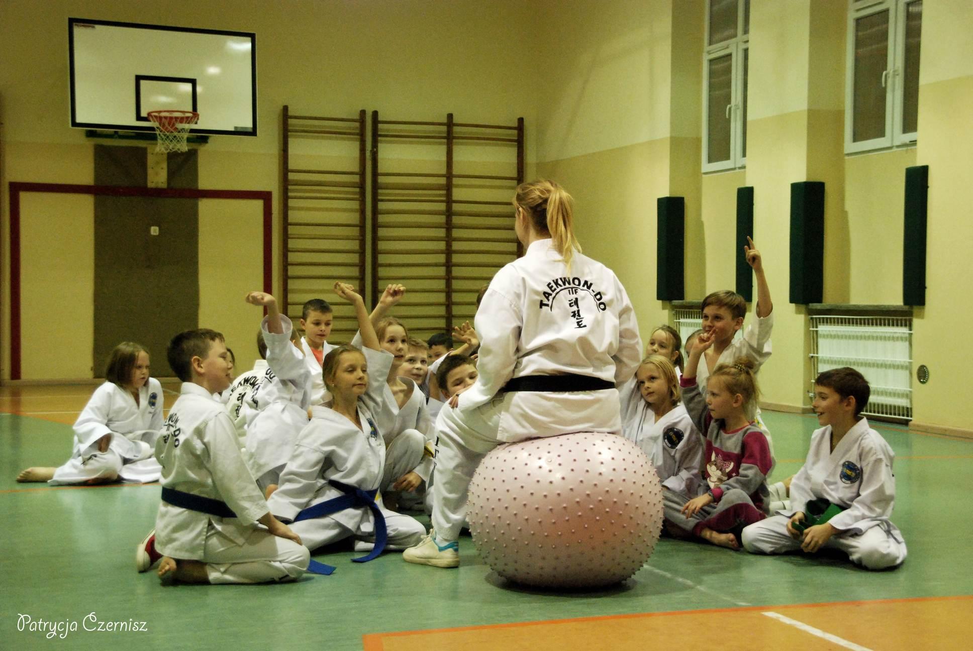 Taekwon-do Młodzieżtaekwondo brzeg dolny