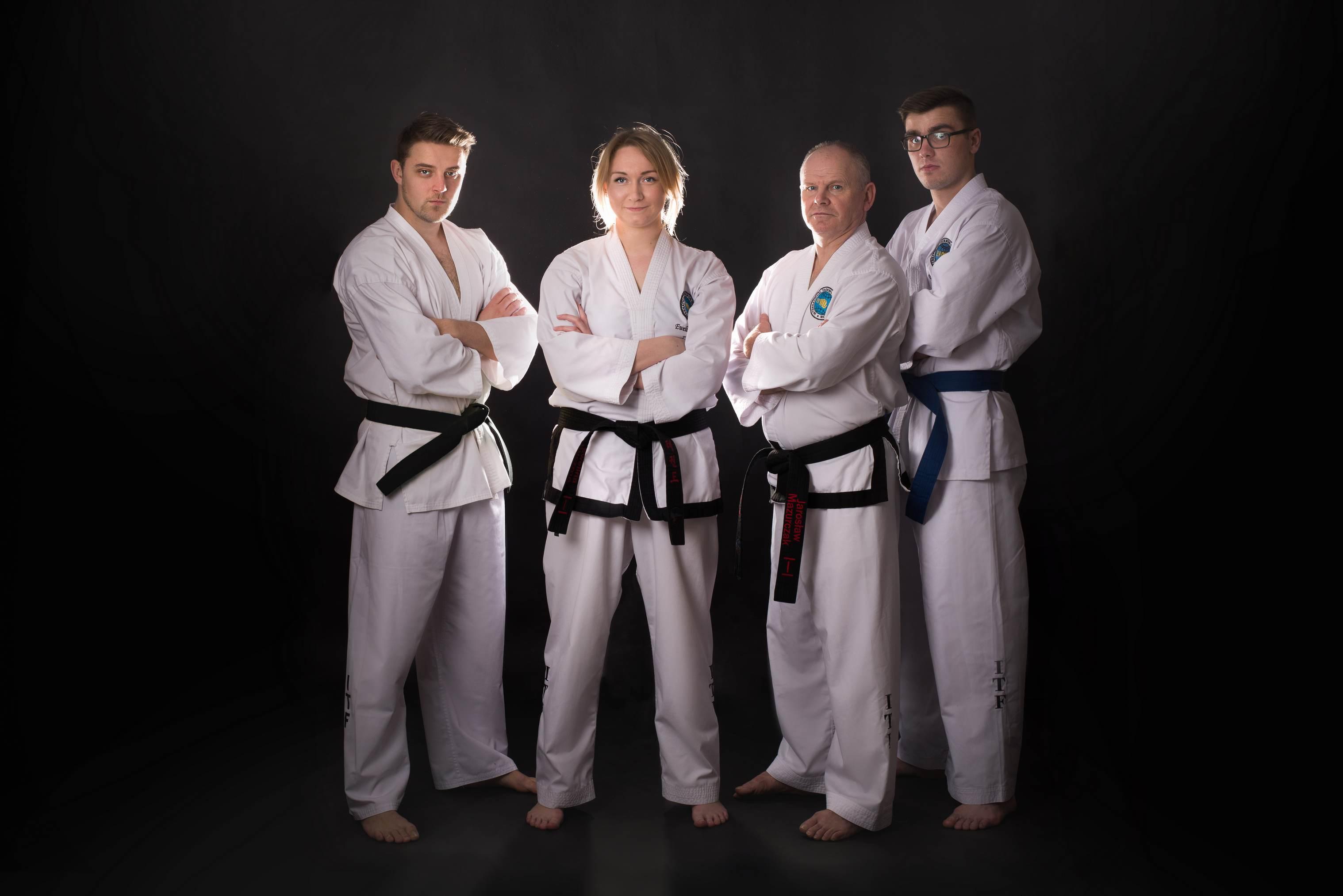Instruktorzy taekwon-do